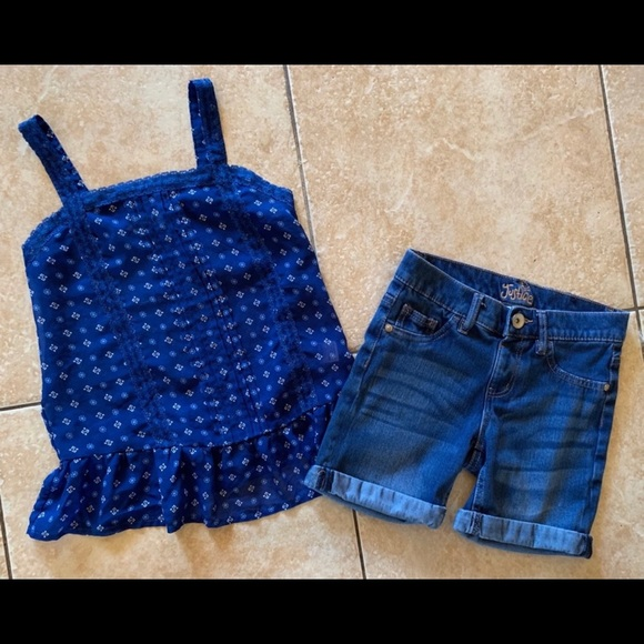 Justice Other - Girls Justice Outfit Top & Shorts 10